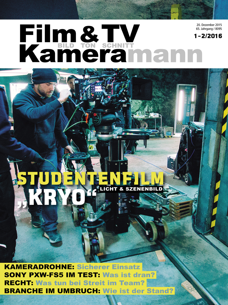 Produkt: Film & TV Kameramann Digital 01-02/2016
