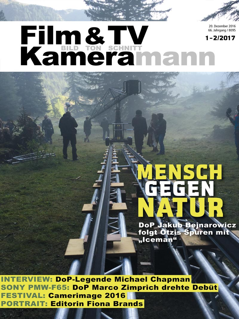 Produkt: Film & TV Kameramann Digital 01-02/2017