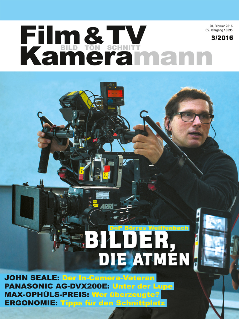 Produkt: Film & TV Kameramann Digital 03/2016