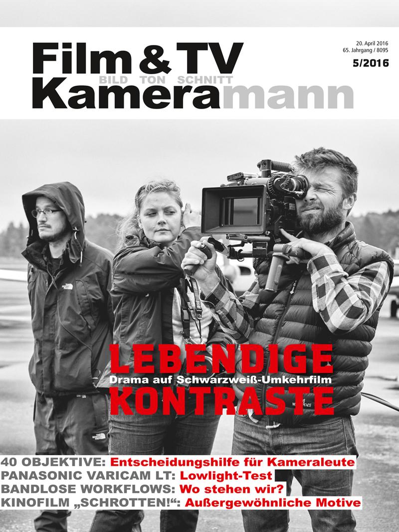 Produkt: Film & TV Kameramann Digital 05/2016
