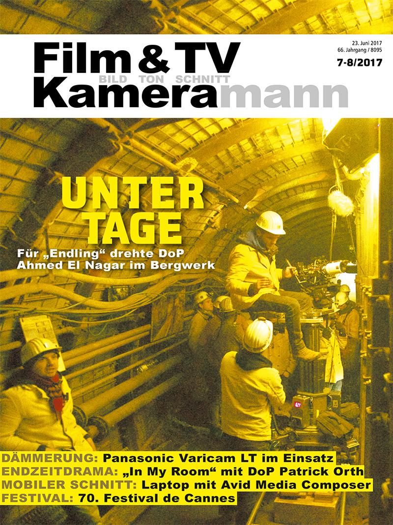 Produkt: Film & TV Kameramann Digital 07-08/2017