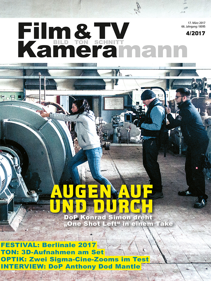 Produkt: Film & TV Kameramann Digital 04/2017