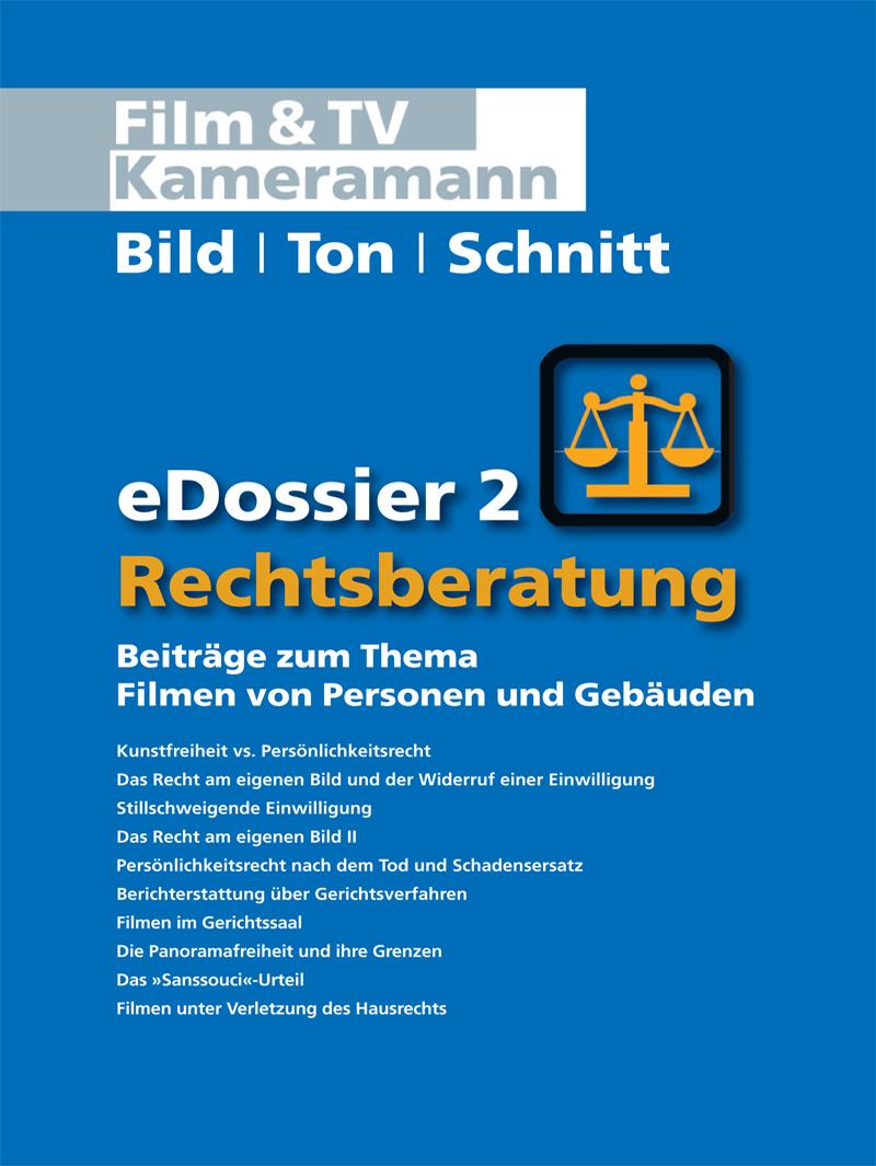 Produkt: Rechtsberatung eDossier 2: Beiträge zum Thema Filmen von Personen und Gebäuden