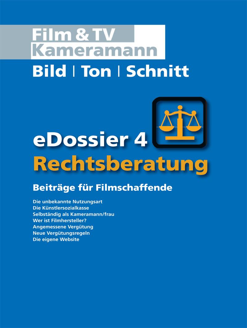 Produkt: Rechtsberatung eDossier 4: Beiträge für Filmschaffende