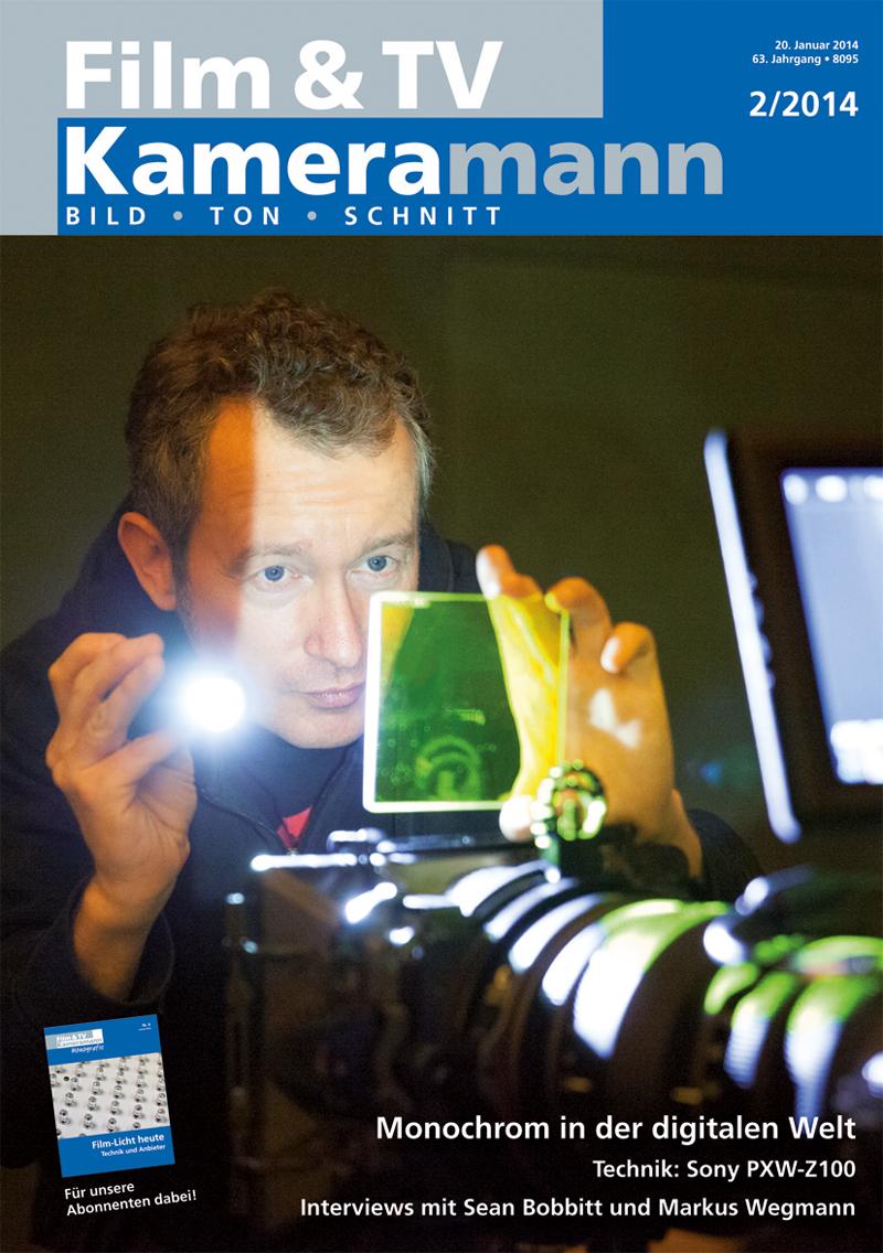 Produkt: Film & TV Kameramann Digital 02/2014