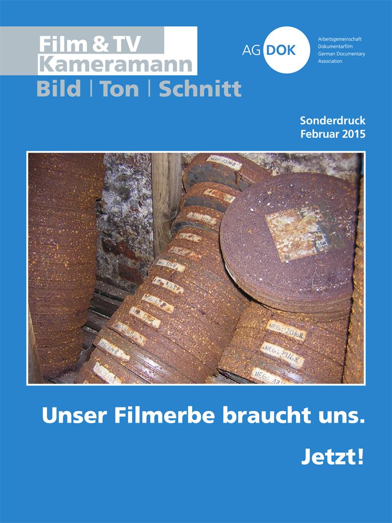 Produkt: Sonderdruck Februar 2015 »Filmerbe«