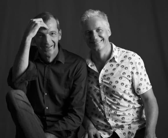 Die Geschäftsführung von Act HeadQuarter Media: Robert Groß und Andreas Fröhlich