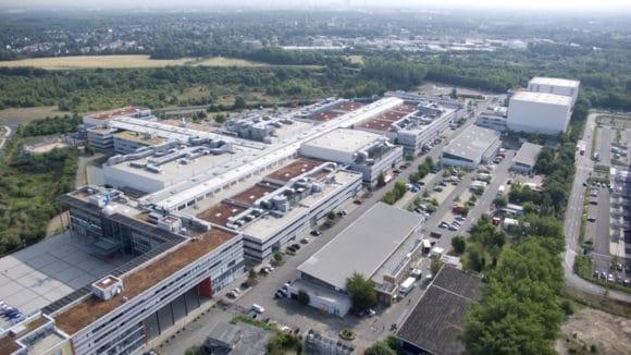 MMC Studios in Köln Ossendorf von oben