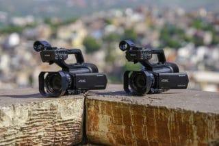Sony Camcorder HXR-NX80 und PXW-Z90