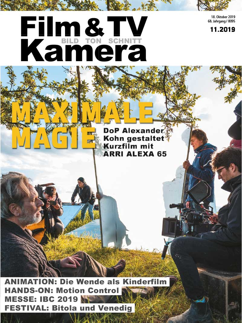 Produkt: Film & TV Kamera 11.2019 Digital