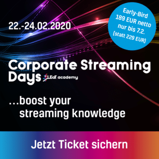 Corporate Streaming Days